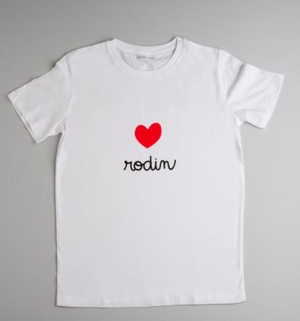 Tee-shirt Love Rodin
