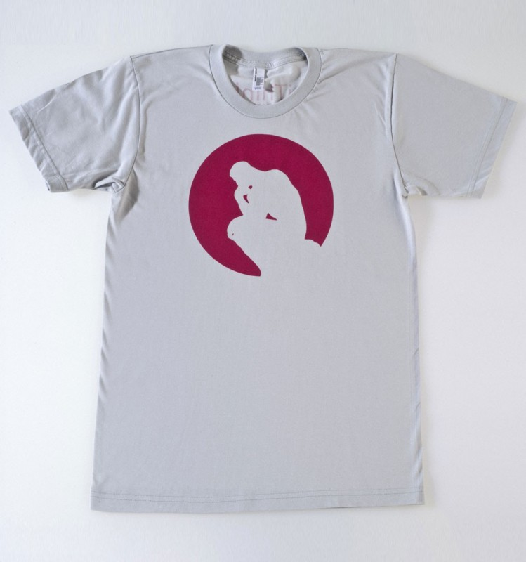 Tee-shirt The Thinker in a circle