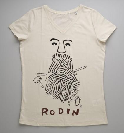 Tee-shirt Femme Rodin