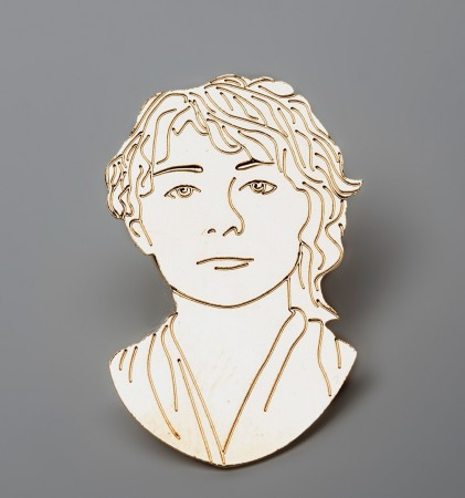 Camille Claudel Label Pin