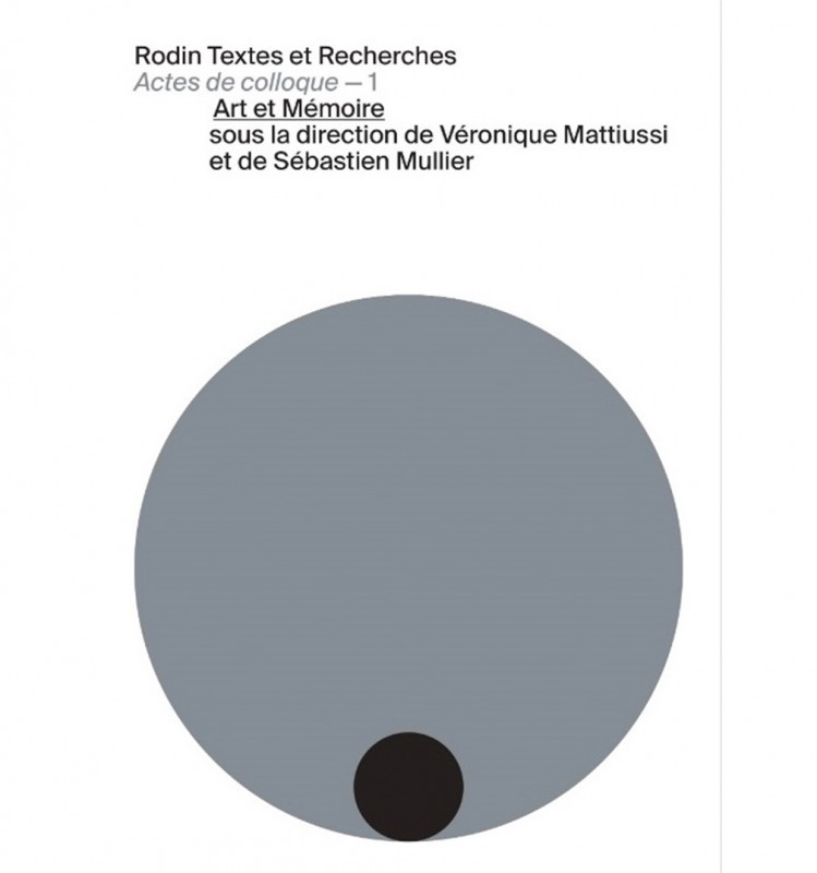 Art et Mémoire : Acte de colloque 1